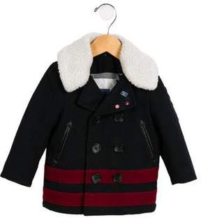 Ikks Boys' Double-Breasted Coat