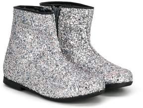 Simonetta glittered ankle boots