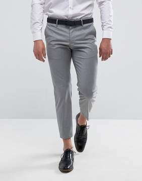 MANGO Man Slim Fit Smart Pants In Light Gray
