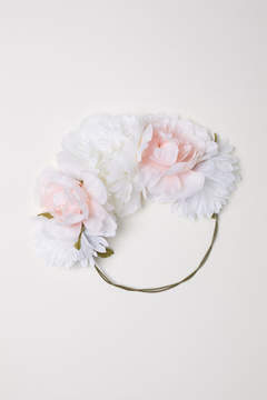 H&M Hair Decoration with Flowers - Pink