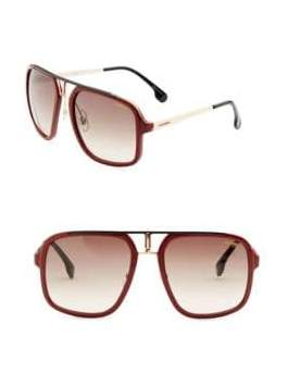 Carrera 58MM Square Sunglasses
