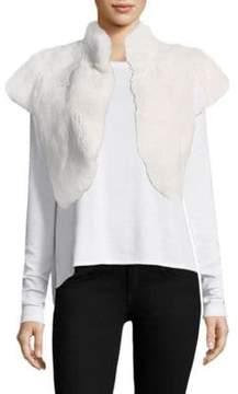 Adrienne Landau Rabbit Fur Bolero
