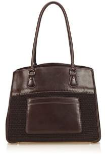 Hermes Pre-owned: Leather Trim Tote Bag. - BROWN - STYLE