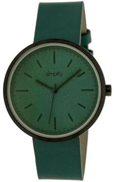 Simplify The 3000 Collection SIM3004 Unisex Watch with Leather Strap