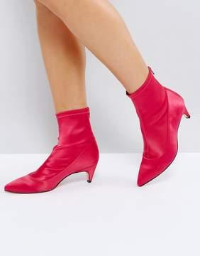 Office Atomic Kitten Heel Sock Boot