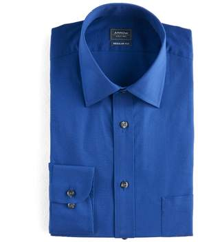 Arrow Big & Tall Solid Textured Dress Shirt