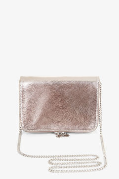 BCBGeneration Metallic Faux-Leather Cross-Body