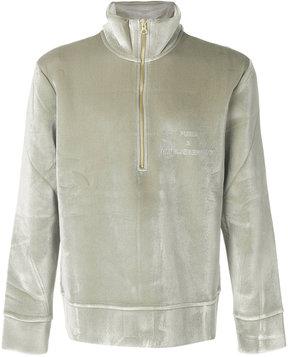 Puma textured logo sweater