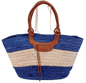 Women's San Diego Hat Company Paperbraid Tote BSB1561
