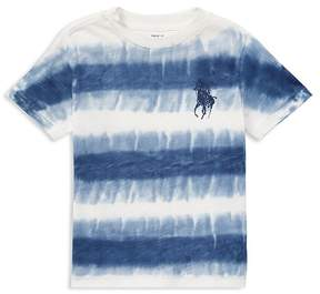 Polo Ralph Lauren Boys' Cotton Jersey Tie-Dye Tee - Little Kid