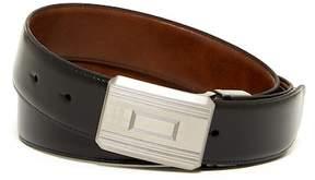 Boconi Reversible Plaque Leather Belt