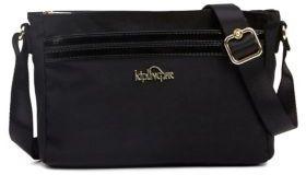 Kipling Top Zip Shoulder Bag - BLACK - STYLE