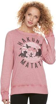 Disney Disney's The Lion King Juniors' Hakuna Matata Graphic Sweatshirt