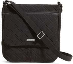 Vera Bradley Double Zip Mailbag Crossbody - VERA VERA CLASSIC BLACK - STYLE