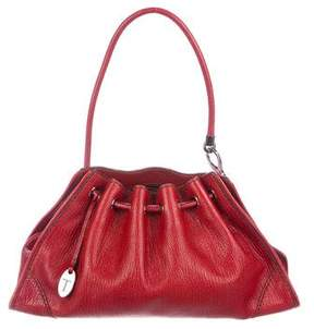 Tod's Leather Drawstring Hobo