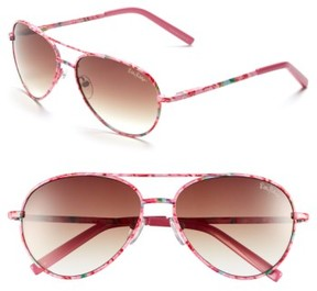 Lilly Pulitzer Women's 'Augusta' 57Mm Sunglasses - Pink Floral