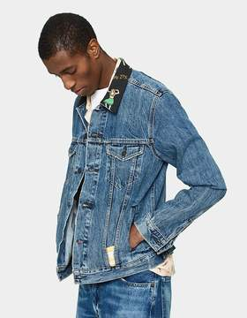 Levi's The Trucker Jacket in Hula Collar
