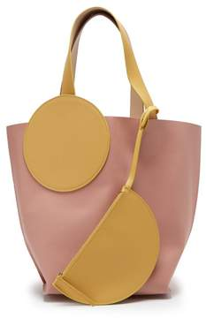 Roksanda Eider Tote Bag - Womens - Pink Multi