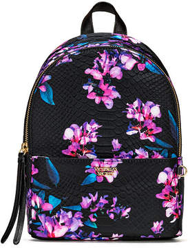 Victoria's Secret Victorias Secret Midnight Blooms Small City Backpack