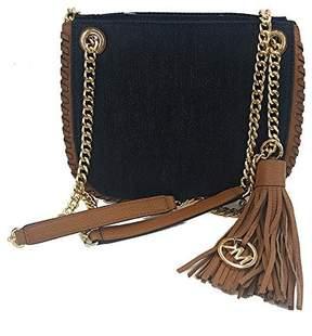 Michael Kors Whipped Chelsea Handbag DK Denim (35T6GWCM1C) - ONE COLOR - STYLE