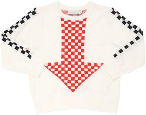Stella McCartney Checkered Organic Cotton Sweater