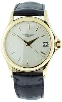 Patek Philippe Calatrava 5127J 18K Yellow Gold Mens 37mm Watch