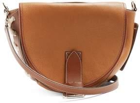 J.W.Anderson Bike Leather Saddle Bag - Womens - Tan