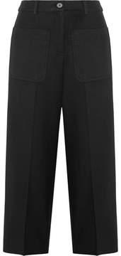 Vanessa Bruno Helias Twill Wide-leg Pants - Black