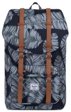 Herschel Little America Palm Print Backpack