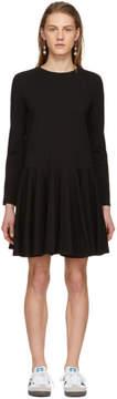 Edit Black Circle Skirt Dress