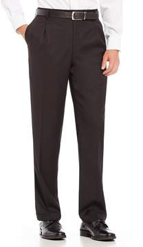 Roundtree & Yorke Big & Tall Travel Smart Ultimate Comfort Classic Fit Pleat Front Non-Iron Twill Dress Pants