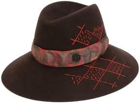 Maison Michel cross pattern hat