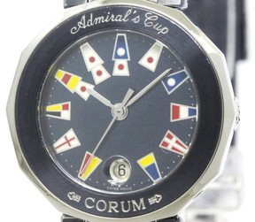 Corum Admirals Cup Stainless Steel Quartz 27mm Womens Watch