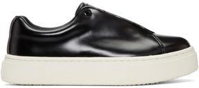Eytys Black Leather Doja Sneakers