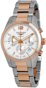 Longines Conquest Silver Dial Automatic Men's Watch