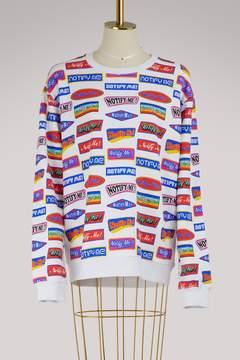 Atelier Notify Cotton logo sweatshirt