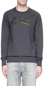 Denham Jeans Logo embroidered sweatshirt