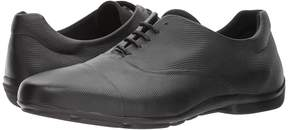 Emporio Armani Soft Leather Cap Toe Oxford Men's Lace Up Cap Toe Shoes