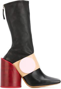 Jacquemus button strap boots
