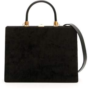 Rodo Velvet And Leather 70 Midi Bag
