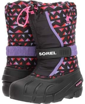 Sorel Flurry Print Girls Shoes