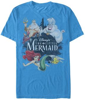 Fifth Sun The Little Mermaid Turquoise Watercolor Tee - Men's Regular