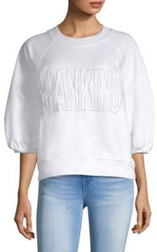 7 For All Mankind Puff-Sleeve Sweatshirt