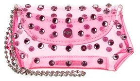 Sonia Rykiel Embellished PVC Coin Pouch