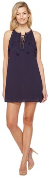 Brigitte Bailey Ismaray Sleeveless Tie-Front Dress Women's Dress