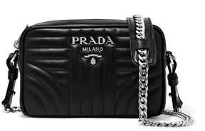 Prada Quilted Leather Camera Bag - Black