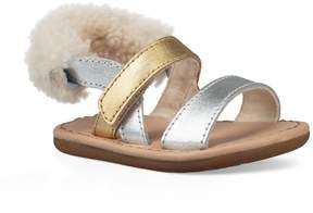 UGG Girls' Dorien I Metallic Sandals