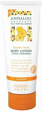 Andalou Naturals Mandarin Vanilla Vitalizing Body Lotion - 8 Oz