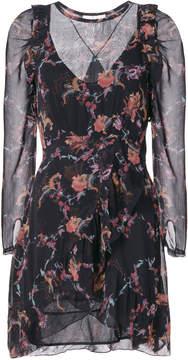 IRO Loxie Printed Mini Dress