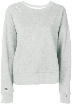 RtA long-sleeve fitted sweater